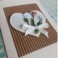 Přání svatební s kyticí růží