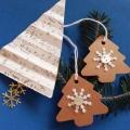 Vánoční dárková kartička stromeček 2.