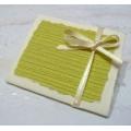Zelená dárková kartička