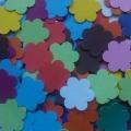 Výseky - květina -mix barev