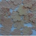 Výseky - květina - ruční papír
