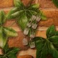 Náušnice žíhané průsvitné