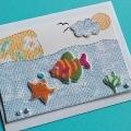 Card from ocean