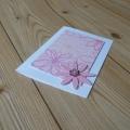 Papírové přáníčko jarní růžové 2.