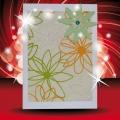 Papírové přáníčko jarní zelené