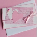 card with two heart