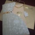 Přání - svatební šaty se zlatem